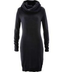 abito in maglia a collo alto (nero) - bpc bonprix collection