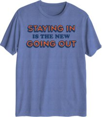 hybrid men's new going out graphic t-shirt