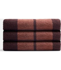 wide stripe beach towel