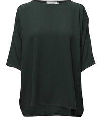 mains tee 5687 blouses short-sleeved grön samsøe samsøe