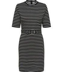 frida 3/4 belted dress