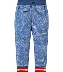 oilily sweat pants hogan- blauw