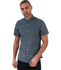mens micro dot short sleeve slim fit shirt