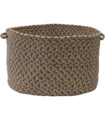 colonial mills boston common braided storage basket
