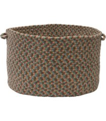 colonial mills boston common braided storage basket