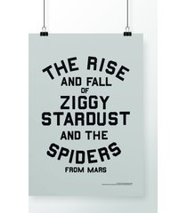 poster the rise and fall of ziggy stardust