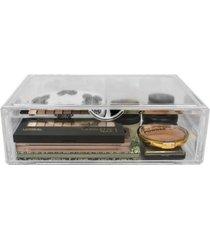 sorbus cosmetics makeup and jewelry storage case, 1 rectangular drawer