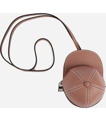 j.w. anderson nano cap leather bag