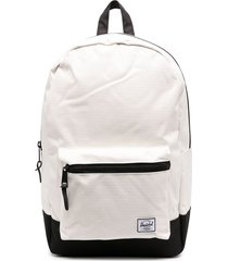 herschel supply co. multi-pocket backpack - white