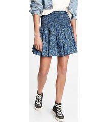 falda azul gap