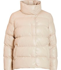 jacka vikiana padded coated jacket