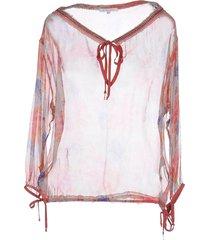 patrizia pepe beachwear blouses