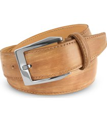 pakerson designer men's belts, men's sand hand painted italian leather belt