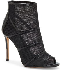 jessica simpson jassie peep toe dress booties women's shoes