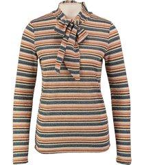vero moda dunnere bow trui met gouddraad
