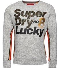 superdry men's lucky 8 sweatshirt