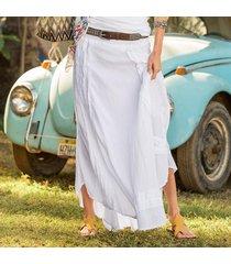 nuevo ruffle skirt