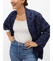 mango printed quilted jacket