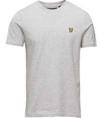 crew neck t-shirt t-shirts short-sleeved grå lyle & scott