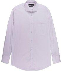 camisa formal con textura silueta slim fit para hombre 00461