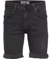 mike shorts pass black jeansshorts denimshorts svart just junkies