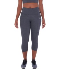 calça corsário sandy fitness athletic cement