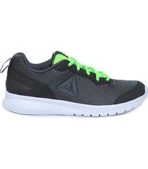 tenis gris reebok adswiftway run