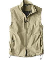 meridian wind vest, khaki, medium