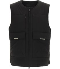 a-cold-wall panel vest with zip