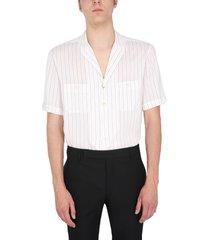 saint laurent shirt with shawl collar