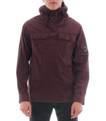 cp company over shirt jacket - chocolate cmos231a2824g-593