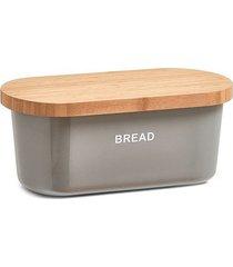 chlebak z deską do krojenia szary