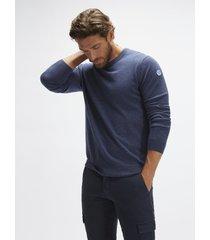 maglione in cotone e lana