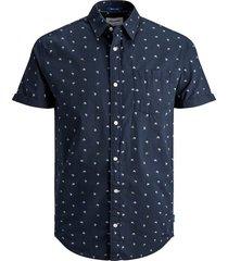 overhemd met korte mouwen bedrukt