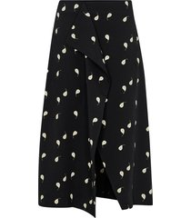 kjol cotentin pear print skirt