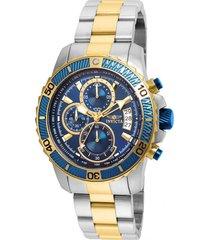 reloj invicta 22415 acero dorado acero inoxidable