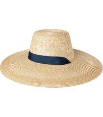 tie-neck straw hat