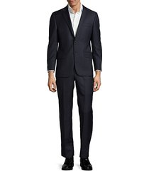 milburn ii m series classic fit pinstripe wool suit