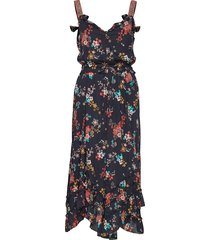 marvelously free strap dress jurk knielengte zwart odd molly