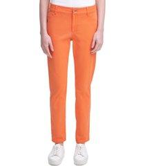 calvin klein stretch cotton twill pants