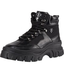 zapatilla boot military negro ngx