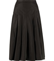 moncler technical fabric skirt