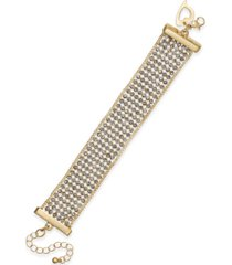 thalia sodi crystal multi-row flex bracelet, created for macy's