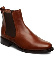 boots 7913 stövletter chelsea boot brun billi bi