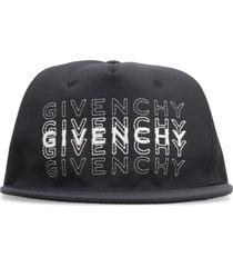 givenchy logo embroidery baseball cap