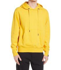 rag & bone bodega damon hoodie, size small in gold at nordstrom