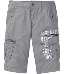 bermuda cargo lunghi loose fit (grigio) - bpc bonprix collection