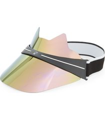 women's bluestone sunshields kitty lux visor - pink