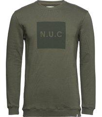campi sweat-shirt tröja grön minimum