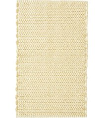 """madison park lasso 20"""" x 30"""" pieced dyed cotton chenille chain stitch rug bedding"""